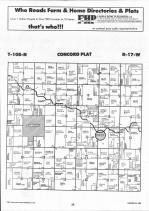 Dodge County Map Image 007, Dodge and Steele Counties 1992